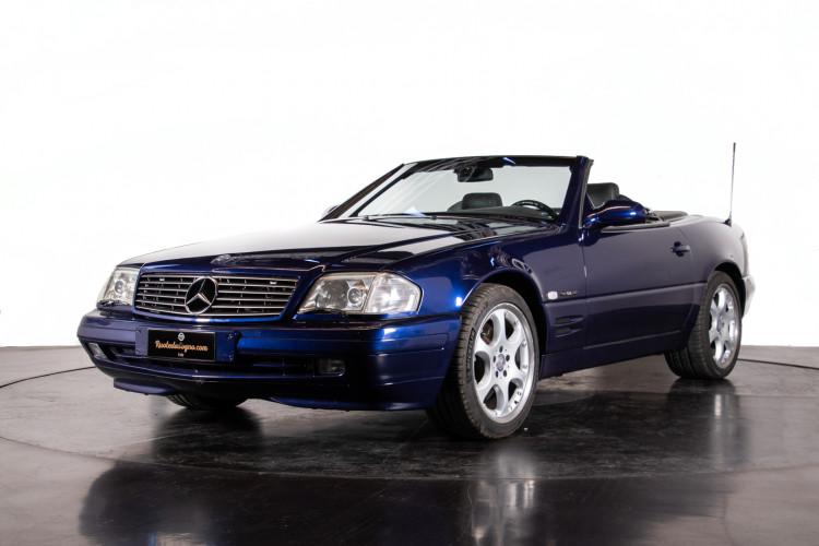 2000 Mercedes Benz SL500 Blue Edition 3