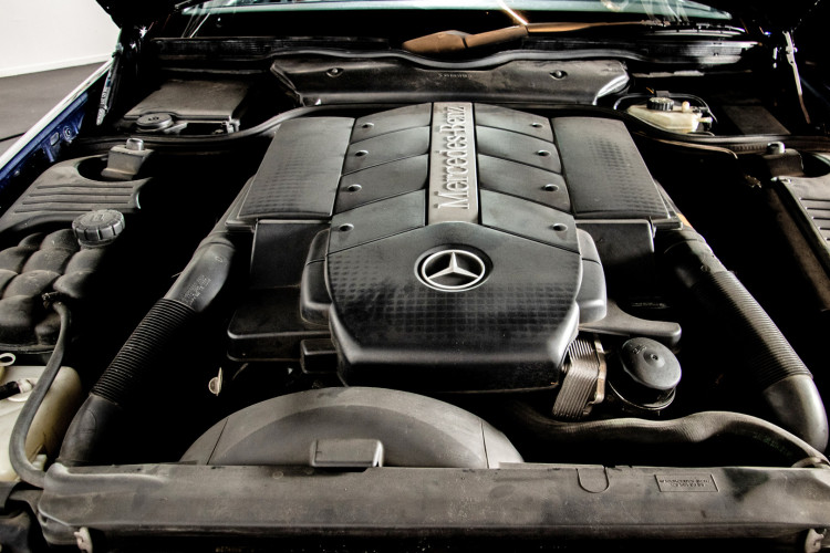 2000 Mercedes Benz SL500 SL Edition 47