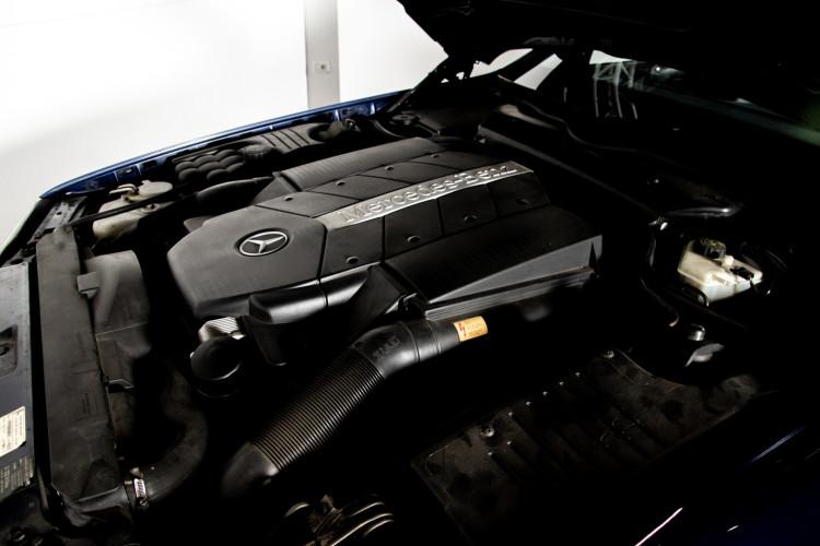 2000 Mercedes Benz SL500 Blue Edition 44