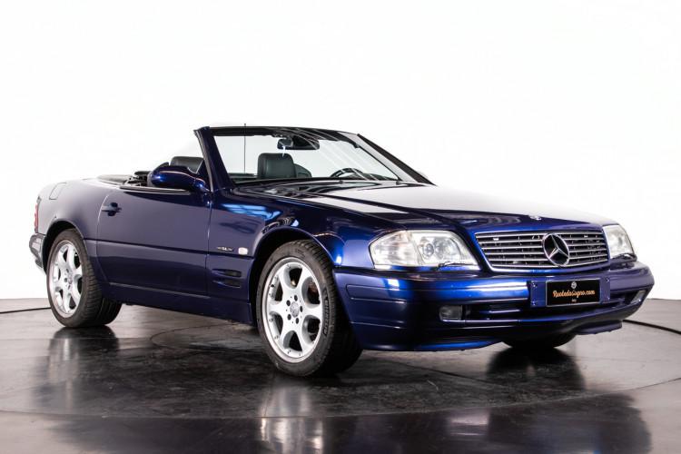 2000 Mercedes Benz SL500 Blue Edition 7