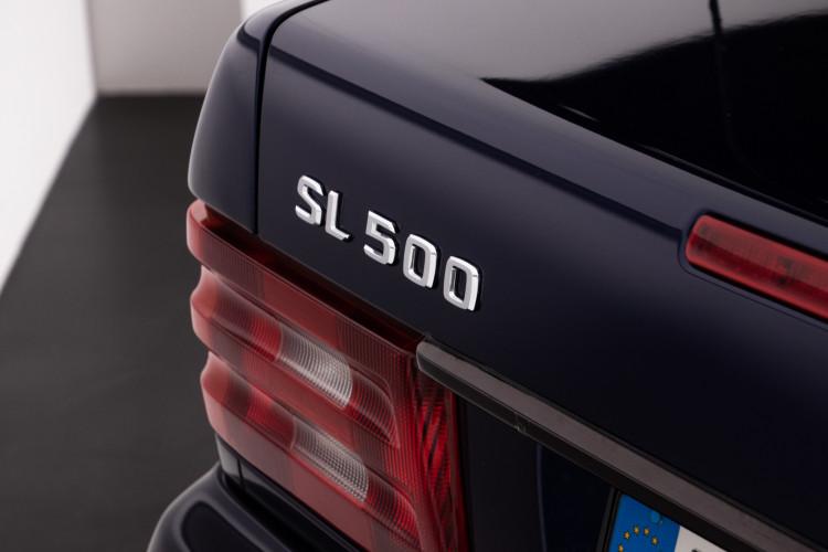 2000 Mercedes Benz SL500 Blue Edition 8