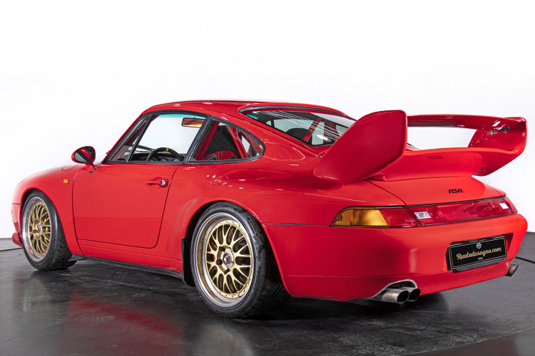 1995 PORSCHE 993 CARRERA RS CLUBSPORT 5