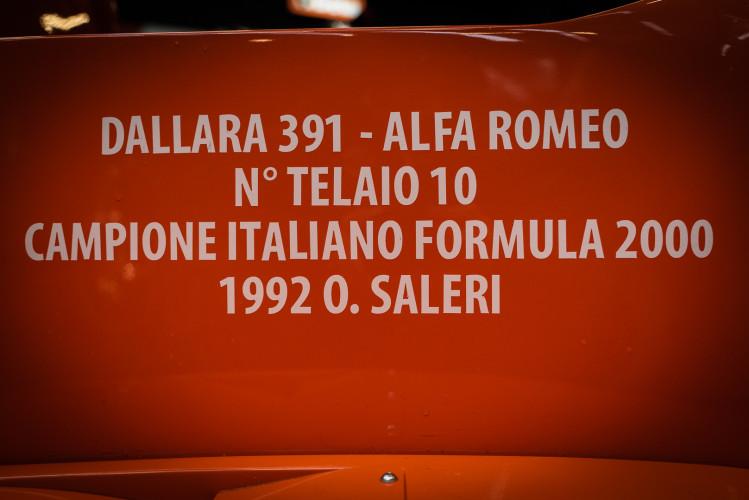 1991 Dallara Alfa Romeo Tipo 391 3