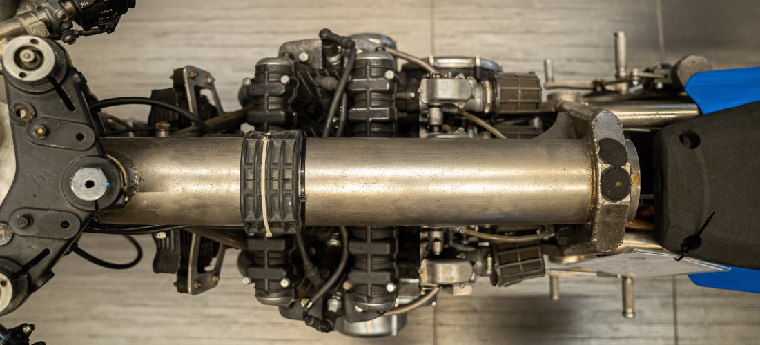 1980 Kawasaki Segoni 900 Testa Nera 13