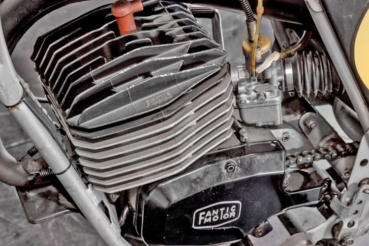 1980 Fantic Motor 125 12
