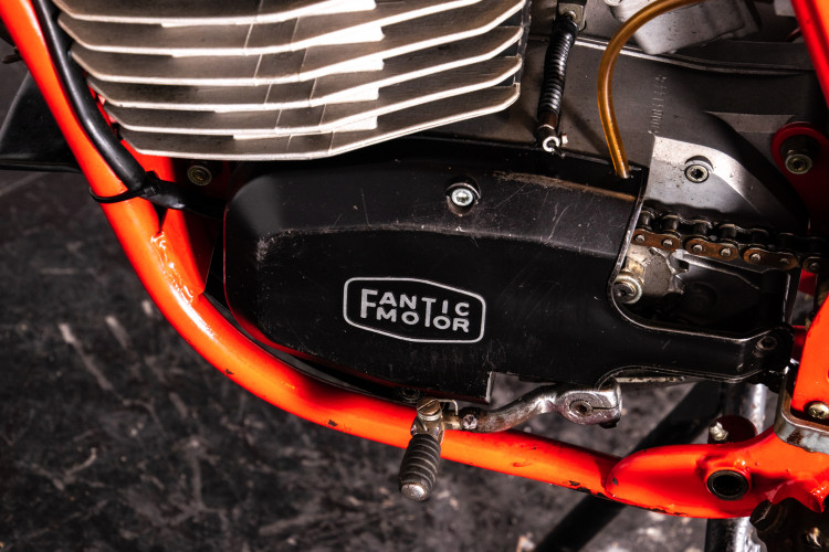 1980 Fantic Motor TX 150 Reg. Competizione 9