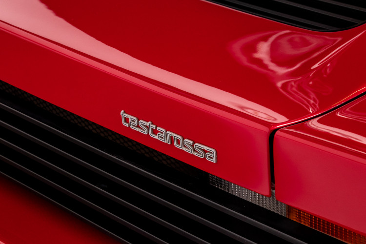 """1985 Ferrari Testarossa """"Monospecchio - Monodado"""" 11"""