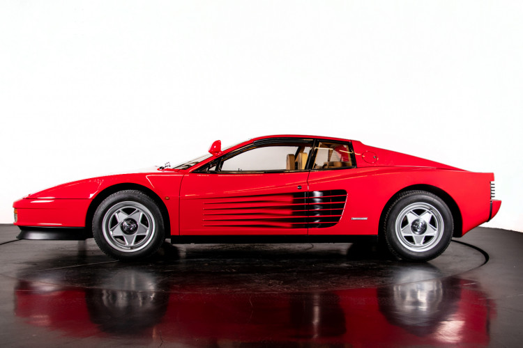 """1985 Ferrari Testarossa """"Monospecchio - Monodado"""" 0"""