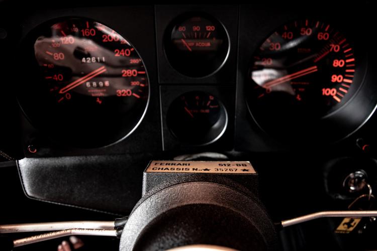 1981 ferrari 512 BB CARBURATORI 40