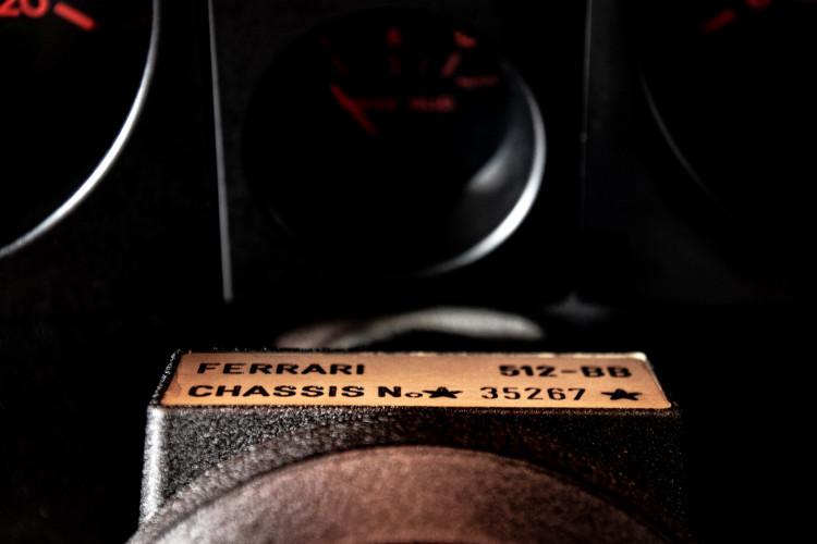 1981 ferrari 512 BB CARBURATORI 41