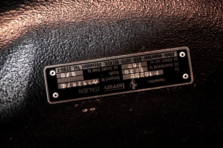 1981 ferrari 512 BB CARBURATORI 49
