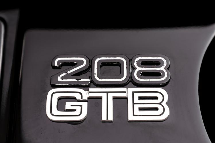 1980 Ferrari 208 GTB Carburatori 28