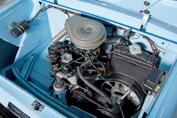 1962 FIAT 750 VIGNALE 39