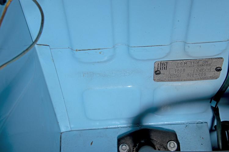 1962 FIAT 750 VIGNALE 46