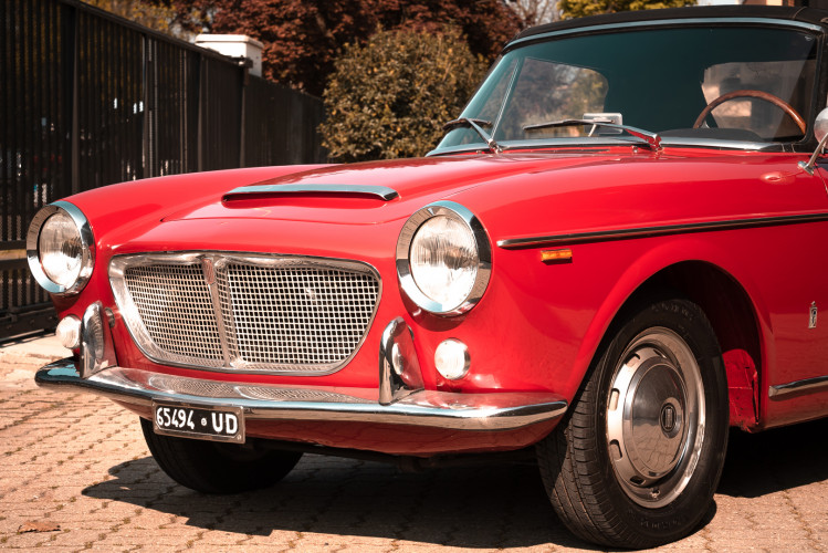 1962 Fiat 1200 Cabriolet Pininfarina 10