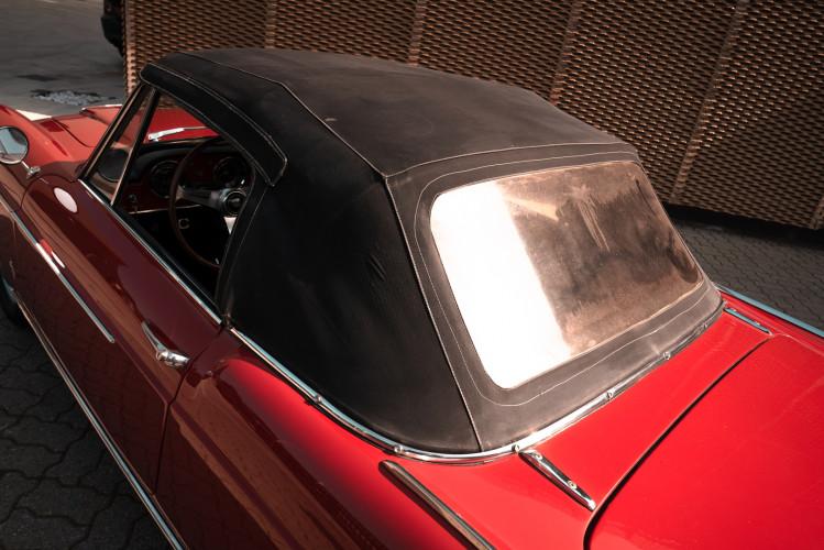 1962 Fiat 1200 Cabriolet Pininfarina 12