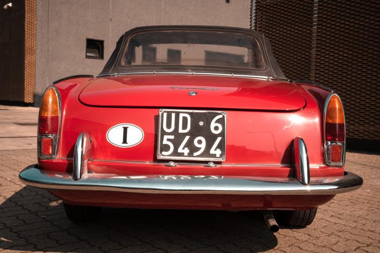 1962 Fiat 1200 Cabriolet Pininfarina 2