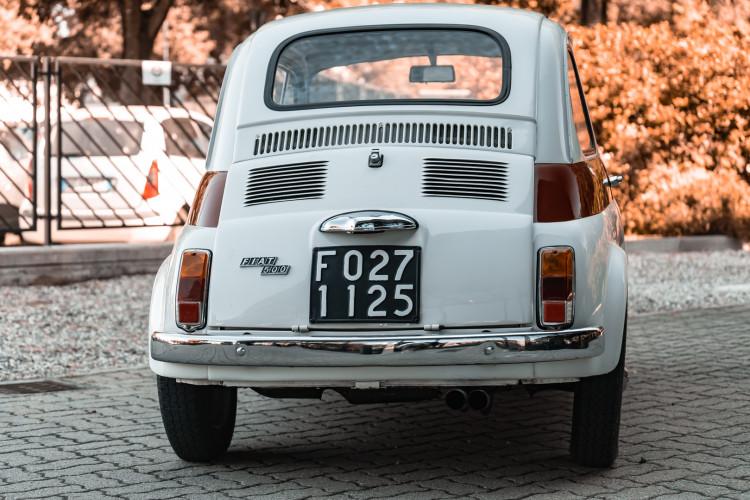 1970 FIAT 500 F 6