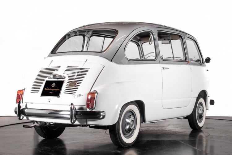 1963 FIAT 600 D MULTIPLA 4