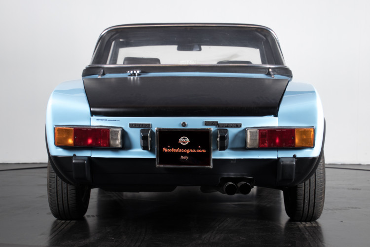1973 Fiat 124 sport rally Abarth 3