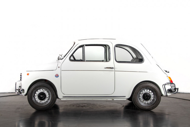 1972 Fiat 500 TV Giannini  1