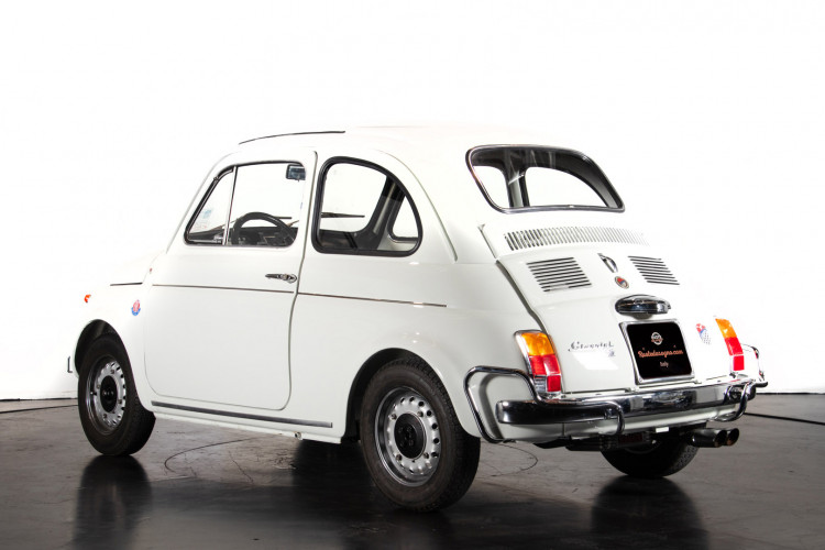 1972 Fiat 500 TV Giannini  2