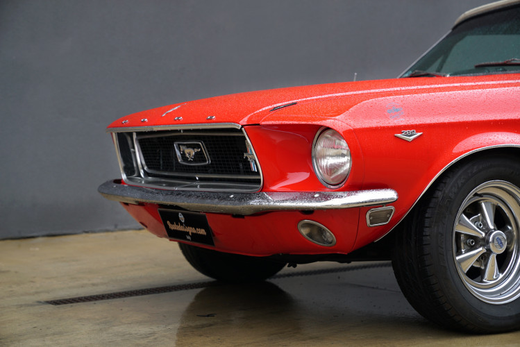 1968 Ford Mustang Convertible 76 A 2