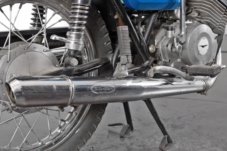 1976 Moto Guzzi 250 2C 2T 8