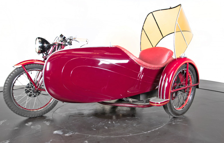 1950 Moto Guzzi S 500 Sidecar 7