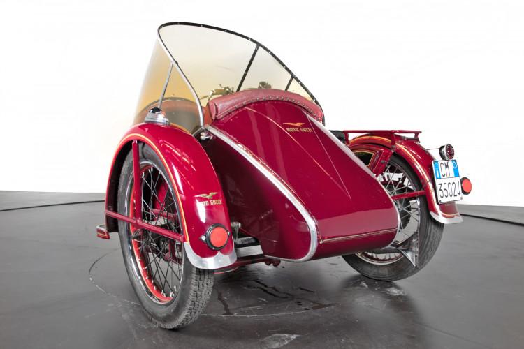 1950 Moto Guzzi S 500 Sidecar 6