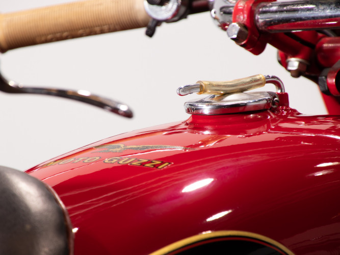 1975 Moto Guzzi 500 FS Sidecar 22