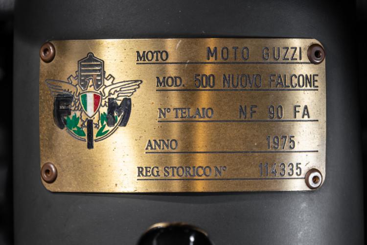 1975 Moto Guzzi Nuovo Falcone 500 46