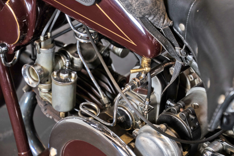 1932 Moto Guzzi Sport 15 Moto Carro 20