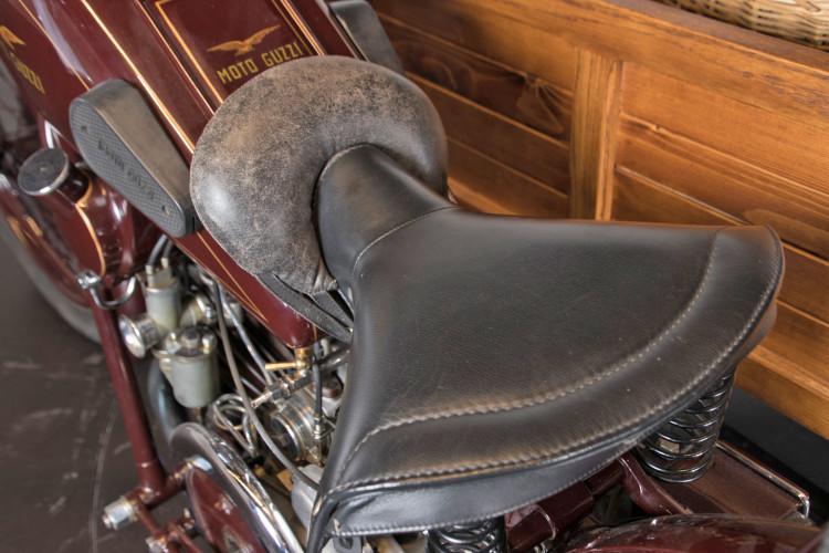 1932 Moto Guzzi Sport 15 Moto Carro 17