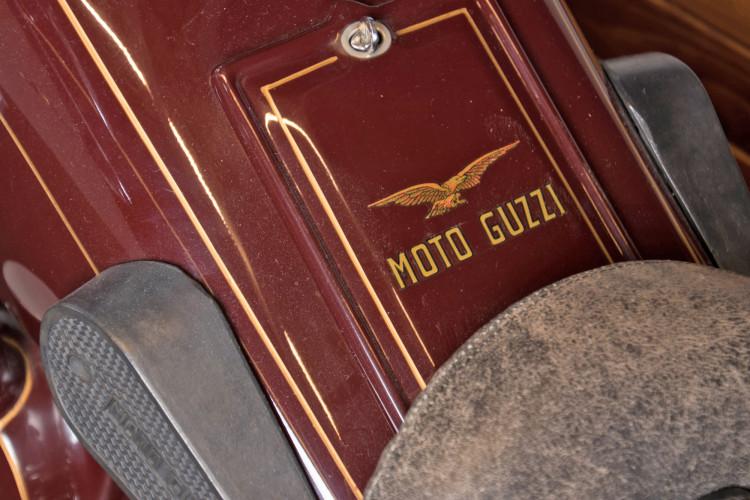 1932 Moto Guzzi Sport 15 Moto Carro 23