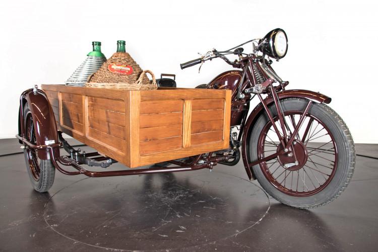 1932 Moto Guzzi Sport 15 Moto Carro 5