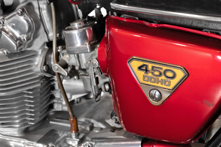 1970 Honda CB 450 14