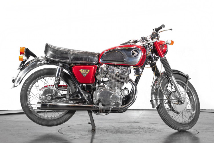 1970 Honda CB 450 4