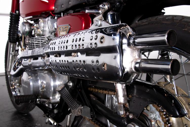 1971 Honda CB 450 Scrambler Replica 12