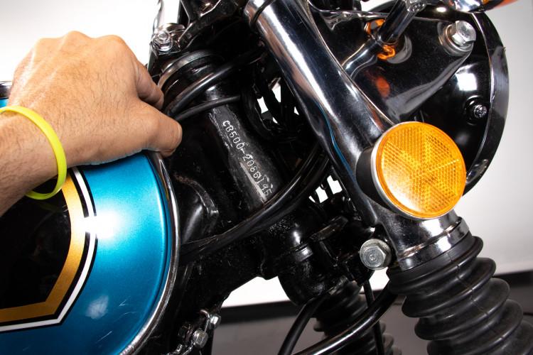 1976 Honda CB 500 30