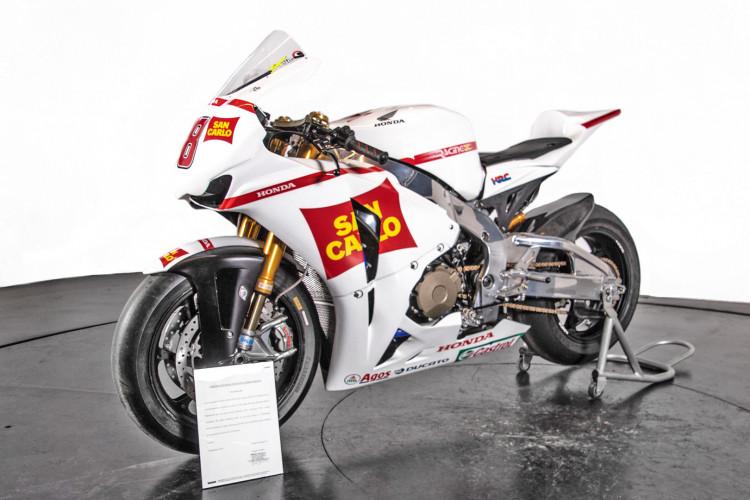 2011 Honda CBR 1000 RR Gresini Racing 7
