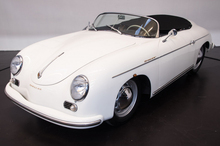 1955 Porsche 356 pre-A Speedster 0