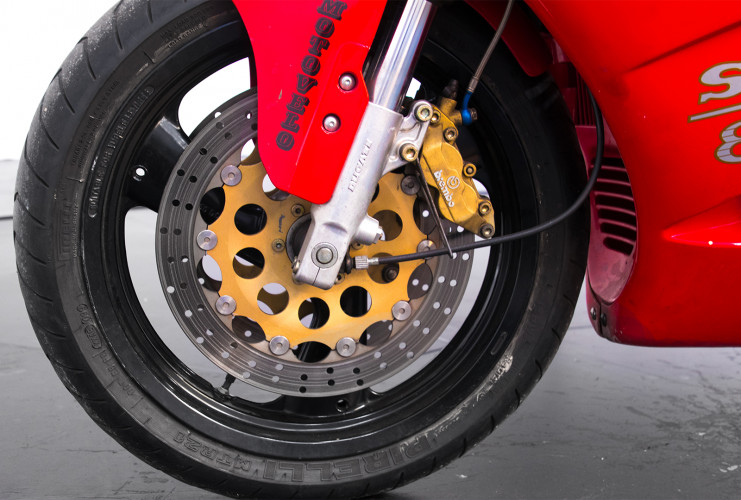 1993 Ducati Superbike 888 Desmoquattro 8
