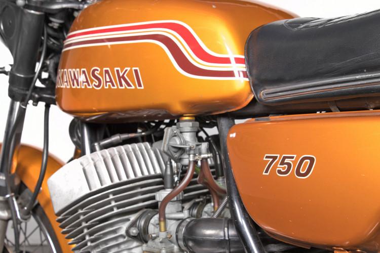 1972 Kawasaki 750 7