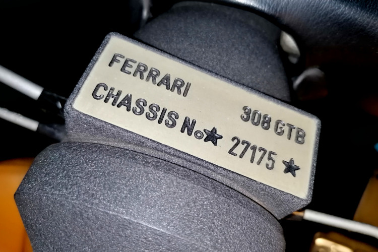 1979 Ferrari 308 GTB Carter Secco 43