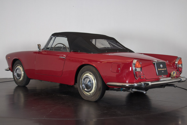 "1962 Lancia Flaminia GT ""Touring"" 2.5 Convertibile 6"