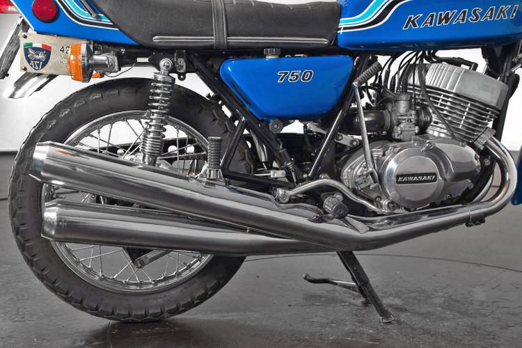1972 Kawasaki H2 Mach 750 7