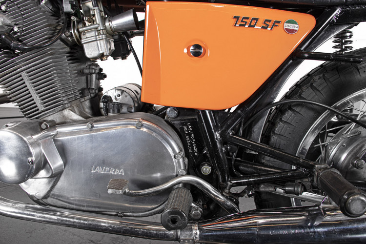 1972 Laverda 750 F 10