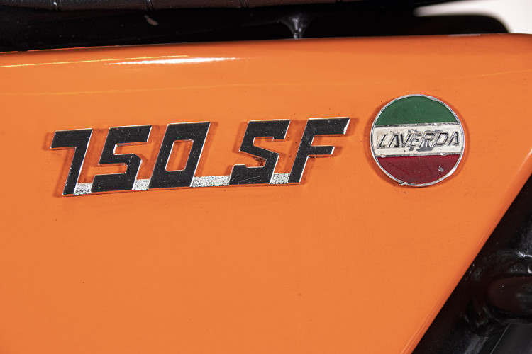 1972 Laverda 750 F 21