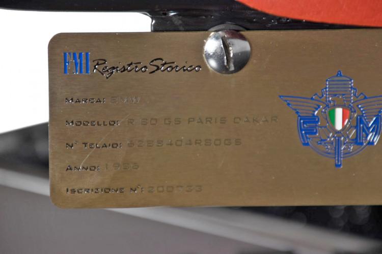 1986 BMW R 80 Parigi Dakar 17
